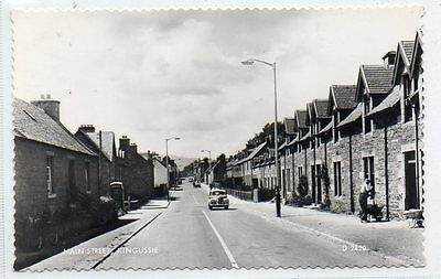 """""postcard Main Street,kingussie,scotland"""""