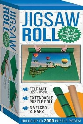 Jigsaw Puzzle Roll -Felt Mat by Various [Book/Pack]