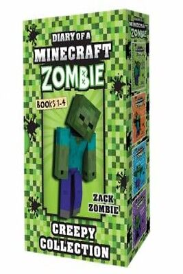 Diary Of A Minecraft Zombie: Creepy Collection 1-4 by ZACK ZOMBIE [Box Set]