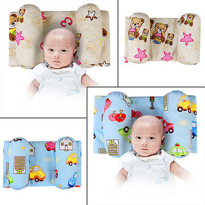 Baby Pillow Infant Newborn Anti Flat Head Syndrome for Crib Cot Bed Positioner
