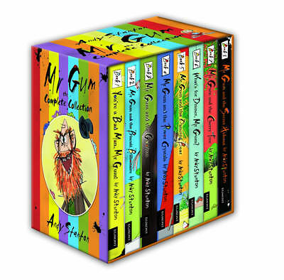 Mr Gum Collection 8 Book Gift Box Set Pack - Andy Stanton