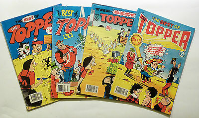 4 x The Best of The Topper: Issues 8, 9 12 & 13. D.C Thomson 1990/91.