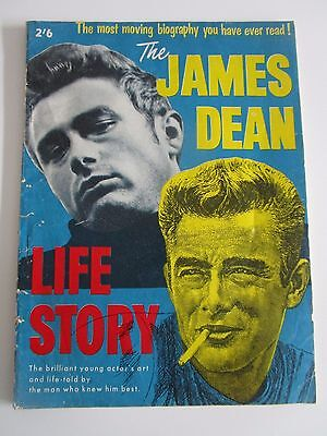 The James Dean Life Story Magazine Australian Edition Vintage 1950's Rare