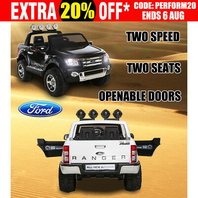 12V Licensed Ford Ranger Electric Kids Ride on Car Truck Children Toy Remote