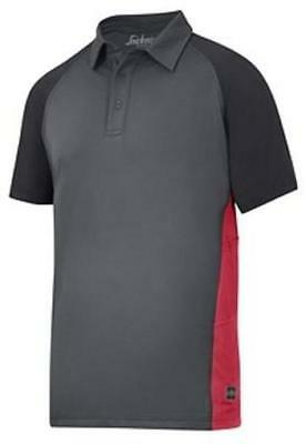 Snickers Avs Advanced Breathable Polo T-Shirt Work Top 2714 Free Delivery
