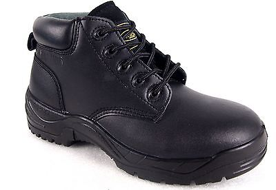 Nazca  Men's/Women's Steel Toe Leather Work Lace Safety Boots--Special