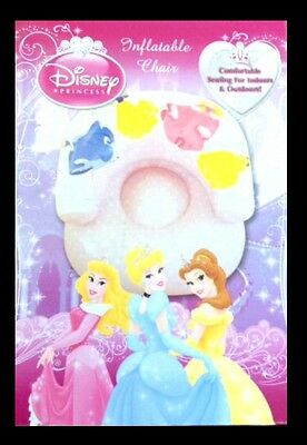 NEW DISNEY PRINCESS WISHES INFLATABLE CHAIR Pretty design indoor outdoor