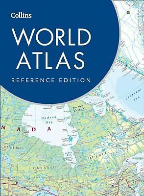 Collins World Atlas: Reference Edition by Collins Maps Hardcover Book