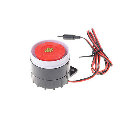12V 120dB Wired Indoor Siren Horn Ear Piercing For Home Security Alarm System GD