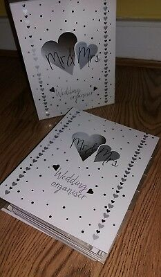 New Wedding Pretty Sparkle Silver Guest Book & Silver Pen 👰💍
