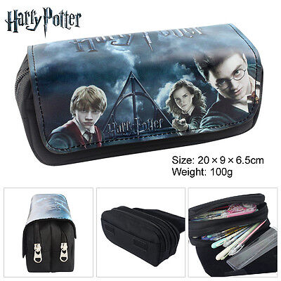 Anmie Harry Potter Pencil Case make up bag school Birthday Gift
