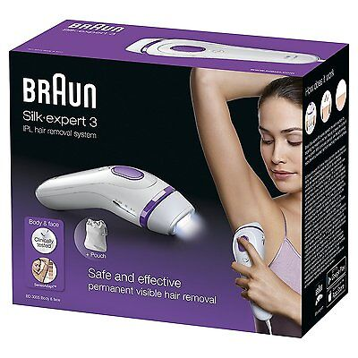 Braun Silk-Expert IPL BD3005 with 250,000 shots Permanent Hair Remover