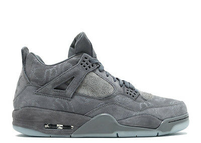 dad07daf3ad0f1 ... discount code for nike air jordan 4 retro kaws cool grey white suede uk  11 us