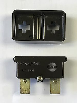Wylex 60 Amp Fuse Carrier With Shield And Fuse Bs1361