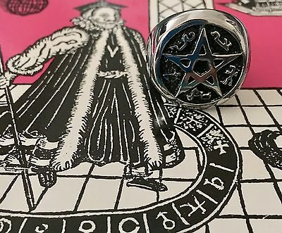 Ultimate Goetia Evocation Commanding Ring - Obtain Whatever You Desire in Life