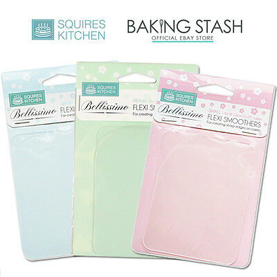 Squires Kitchen Bellissimo Flexi Smoothers - Small / Medium / Large / Full Set