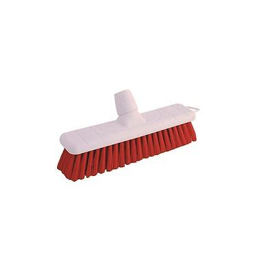 Soft Red 30cm Broom Head P04048, ideal for sweeping dust [BZ00934]
