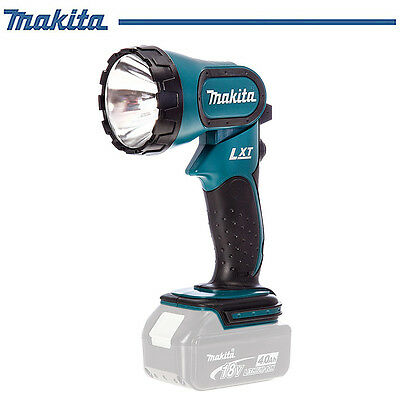 Genuine Makita Electricians 18V Lithium-Ion Cordless Work Flash light Lamp Torch