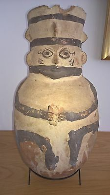 Pre-Columbian Chancay 'Very Large' Pottery Amphora