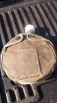 Vintage US Military 7S011 Canteen with case and top 1986