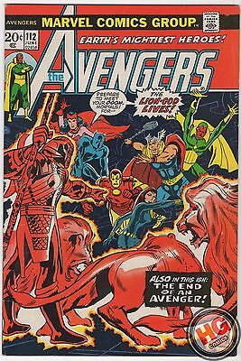 Avengers #112 1st App MANTIS Guardians of The Galaxy 6/73 Marvel Comics