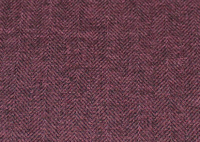J Brown Mckenzie Herringbone Tweed Soft Wool Look Purple Fabric £6.99 Per Metre