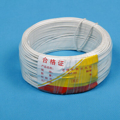 Ф0.9mm Round Plastic Coated Iron Wire Binding Wire Cable Ties 40M/roll