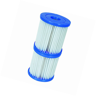 Bestway - Filter Cartridges Size 1 - For 300/330 gal/hr Swimming Pool Pumps Twin