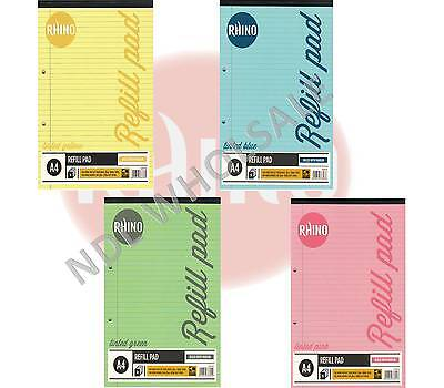 RHINO A4 Special Tinted Paper Education Dyslexia Refill Pad