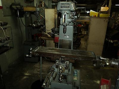 Clausing 8530 Vertical Milling Machine
