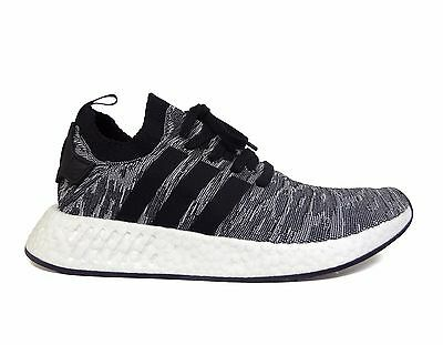 8785c5901 Adidas Men s ORIGINALS NMD R2 PRIMEKNIT Running Shoes Core Black White  BY9409 b