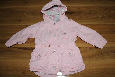 NEXT girls pink spring autumn coat 6-9 months *I'll combine postage