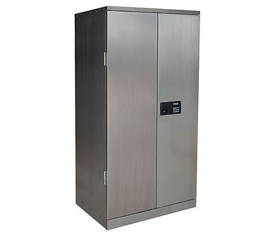 "Stainless Steel Cabinet 78"" Tall x 36"" Wide x 24"" Deep"