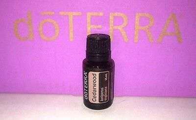 DoTERRA CEDARWOOD Essential Oil 15mL ~ New & Sealed ~ Authentic ~ Free Shipping