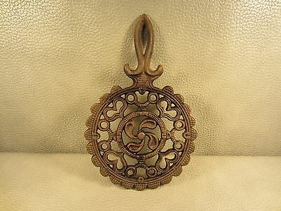 Vintage Cast Iron Wilton Trivet Holder Footed Stand