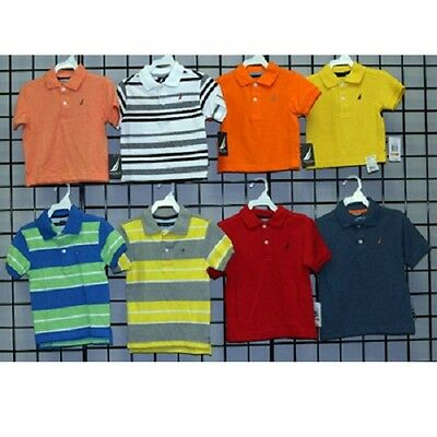 Nautica boys sizes 2T-4T assorted pique polos [N2816]