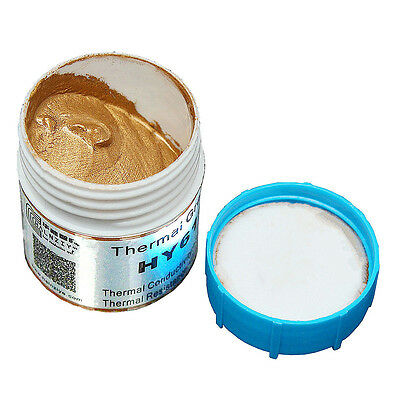 HY610 Gold Thermal Conductive Grease Paste Compound For CPU GPU LED Chipset CL