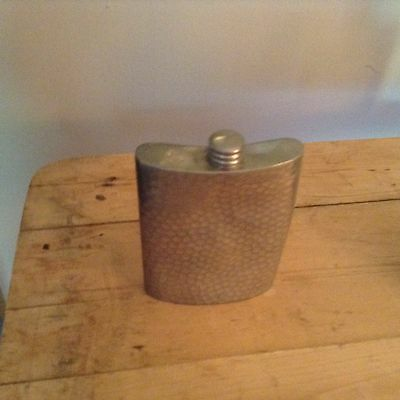 Hoffritz pewter flask made in England