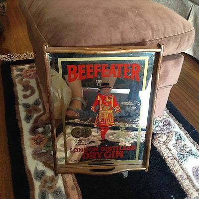 Vintage Beefeater Gin serving tray