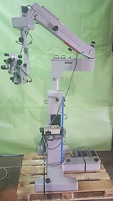 Carl Zeiss S3 OPMI 6-SFC Opthalmic Microscope W- Foot Switch for Eye Surgery