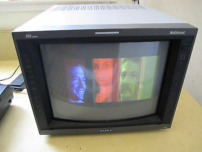 Sony Pvm-14L5 Pro Color Monitor  In Great Working Order