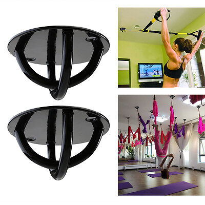 Yoga Suspension Resistance Straps Mount Wall-Ceiling Stable Bracket System