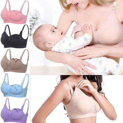 Women Nursing Bra Pregnant Maternity Breastfeeding Bra Feeding Underwear Comfort