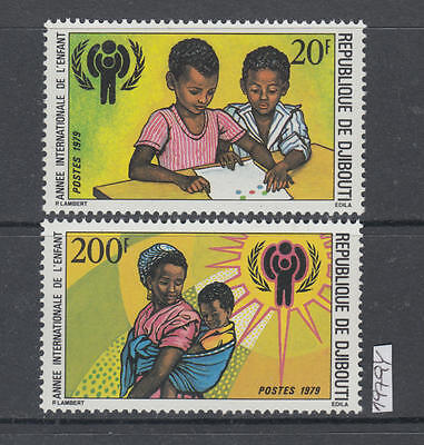 XG-AI511 DJIBOUTI - Intl. Year Of The Child, 1979 2 Values MNH Set