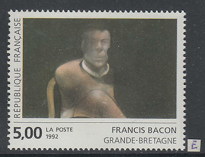 XG-AI498 FRANCE - Paintings, 1992 Art, Great Britain, Bacon MNH Set