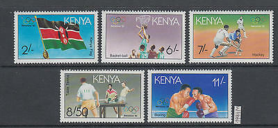 XG-AI828 KENYA - Olympic Games, 1991 Barcelona '92, Table Tennis MNH Set