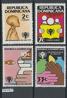 XG-AI848 DOMINICAN REP. - Intl. Year Of The Child, 1979 4 Values MNH Set