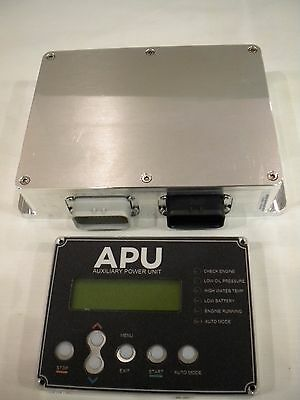 APU Cab Display and Electronic Control Module