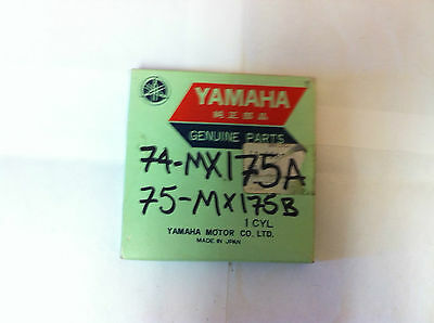 Yamaha 1968 1969 1970 DT1 Piston Ring STD OEM#214-11601-02-00 NOS