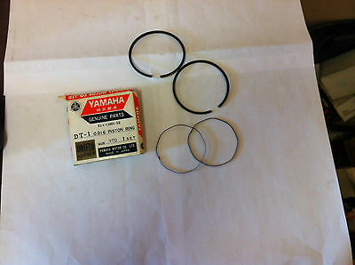 Yamaha 1968 1969 1970 DT1 Piston Ring Set STD OEM#214-11601-02 NOS